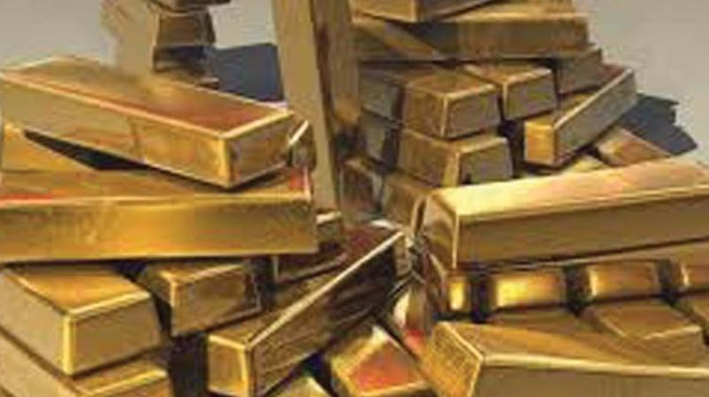 Globally, gold edged up by 0.02 per cent to USD 1,318.30 an ounce and silver by 0.31 per cent to USD 16.39 an ounce in New York.