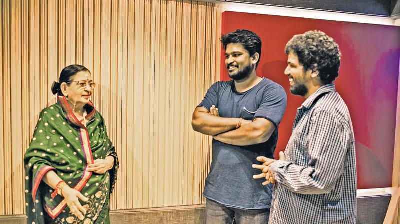 P.Susheela with oorka music team