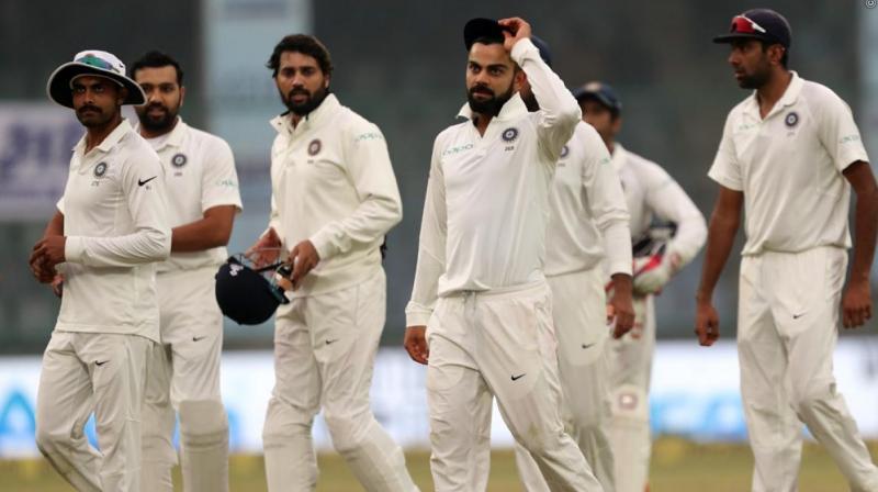 Virat Kohli and co clinched the series vs Sri Lanka 1-0. (Photo: BCCI)