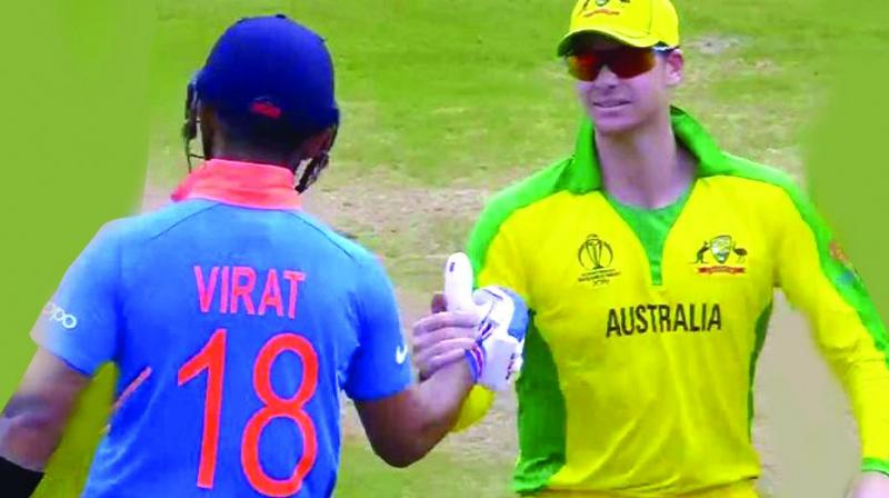 After earning and long living up to the reputation of being the angry young man of Indian cricket, Kohli's gesture of going across to Smith, a cricketer who had been banned for tampering with the ball, and shaking his hand along with an appeal to Indian cricket fans to applaud Smith rather than boo him, met with very warm responses from the Twitterati.
