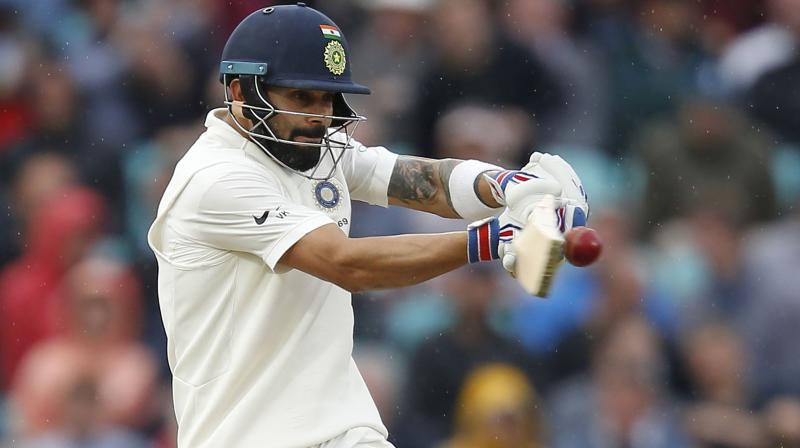 Kohli had scored 692 runs, including four hundreds during India's previous Test tour of Australia and Hazlewood said the run-machine will once again take centrestage when the rivalry renews from December 6 in Adelaide. (Photo: AFP)