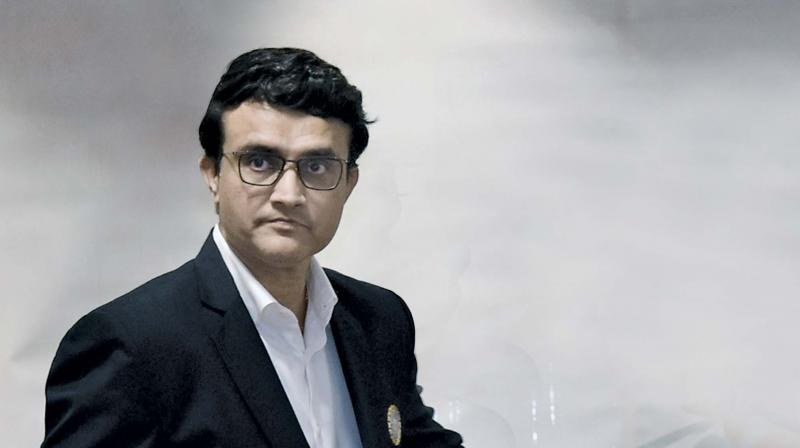 It was also learnt that Sourav Ganguly was apprised of the current situation and plans of hosting home games in Jammu. (Photo: File)