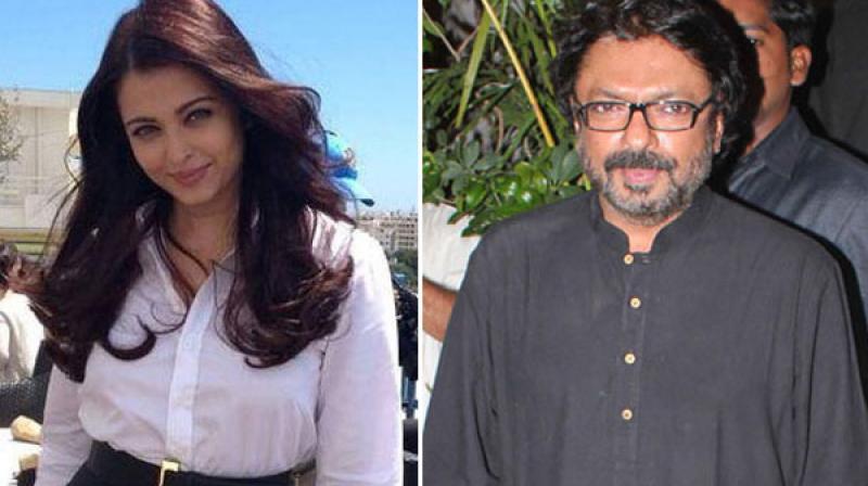 Sanjay Leela Bhansali with Aishwarya Rai Bachchan