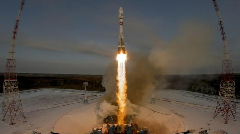Russian weather satellite fails to enter orbit after launch