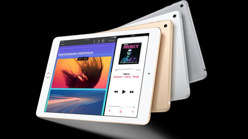 Apple released its current 9.7-inch iPad in March this year.