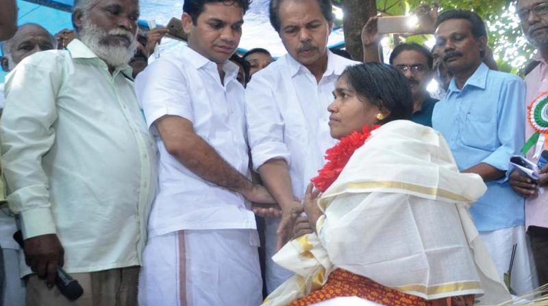 Preetha Shaji Begins Hunger Strike