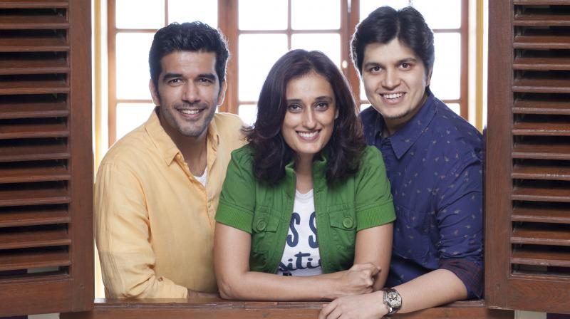 Ruchi Narain, Ashutosh Shah and Taher Shabbir.