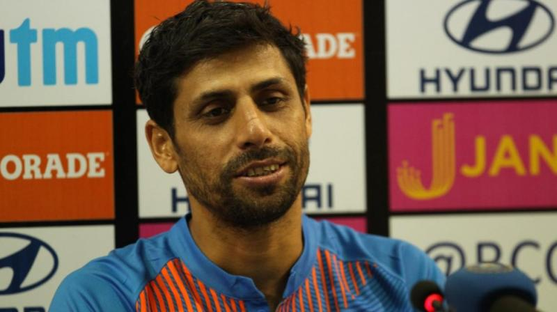 Ashish Nehra acknowledged that he was lucky to be going on his own terms and in front of his home crowd.(Photo: BCCI)