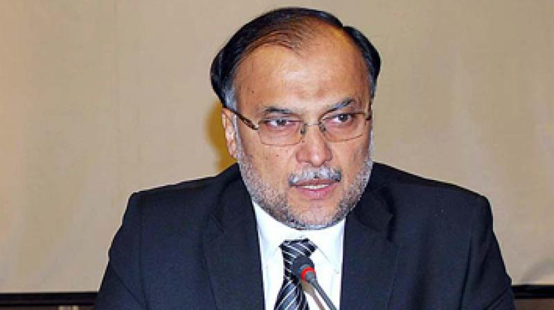 Image result for Interior Minister Ahsan Iqbal, photos