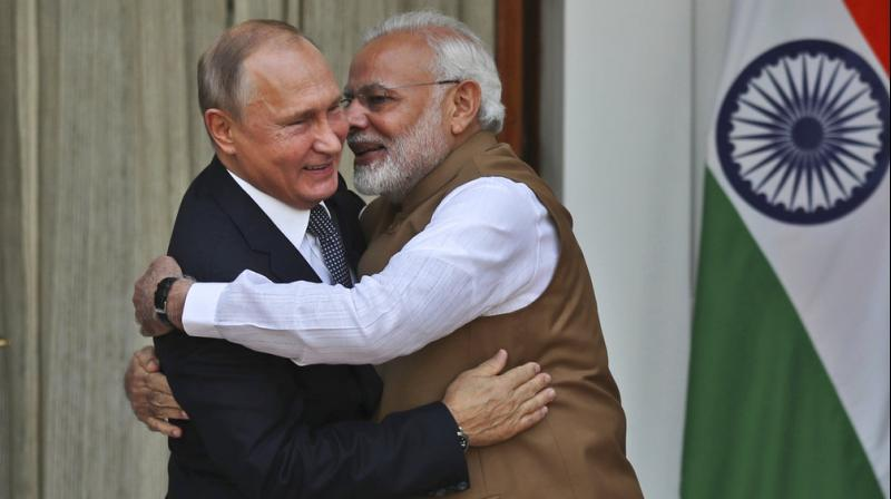 India, Russia sign deals to enable closer ties