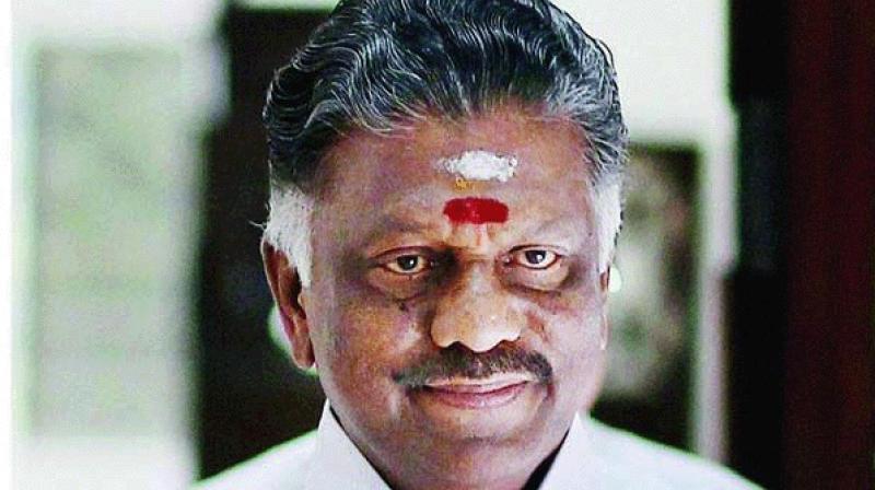 All India Anna Dravida Munnetra Kazhagam (AIADMK) leader O Panneerselvam. (Photo: PTI/File)