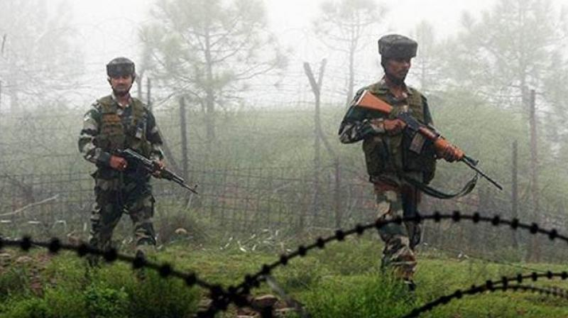 "The shelling and firing, Lt. Col. Devender Anand said, started at 6 am and continued for one hour. ""Indian troops retaliated strongly and effectively. Firing stopped around 7 am,"" he said. (Representational Image 