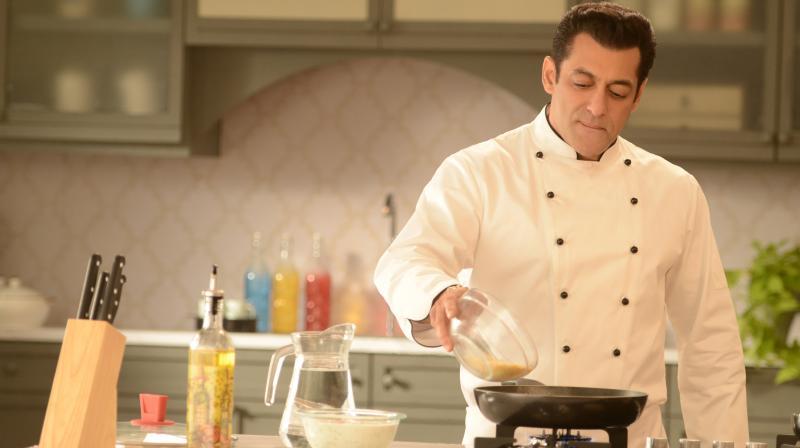 Salman Khan as Chef.