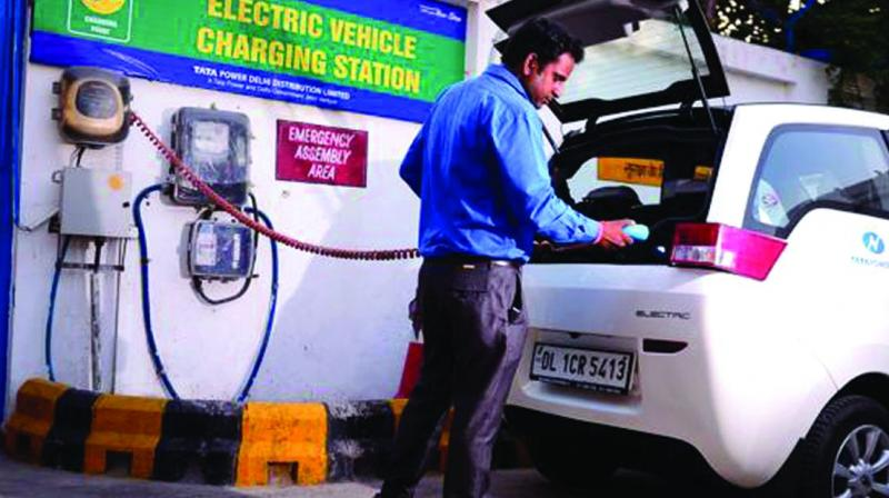"""""""The affordability of electric cars in India is just not there,"""" said R.C. Bhargava, Chairman of Maruti Suz-uki India Ltd. """"I don't think the government or the car companies expect that in the next two to three years there will be any real buying of electric vehicles."""""""