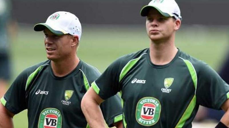 In his column for 'The Daily Telegraph' following India's maiden Test series triumph Down Under, Vaughan wrote that Australia's issues run far deeper than the absence of suspended Smith and Warner. (Photo: AFP)