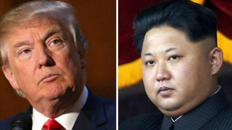 US President Donald Trump on Tuesday warned Kim Jong-Un that he possessed a nuclear button that is 'much bigger and more powerful' than that of the North Korean leader. (Photo: AFP)