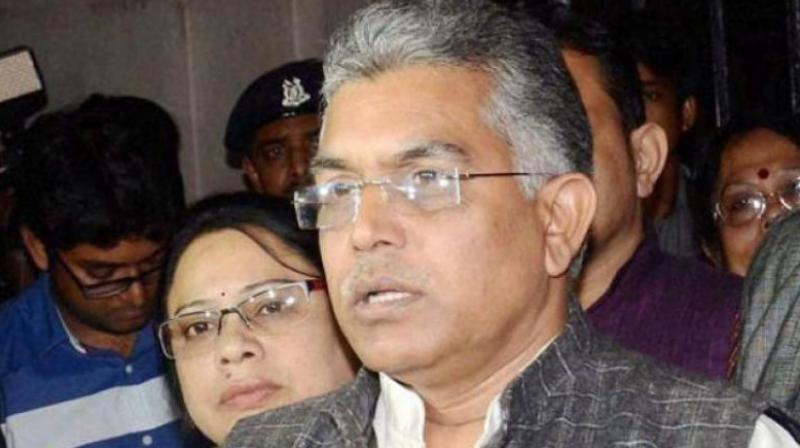West Bengal BJP state president Dilip Ghosh (Photo: PTI)
