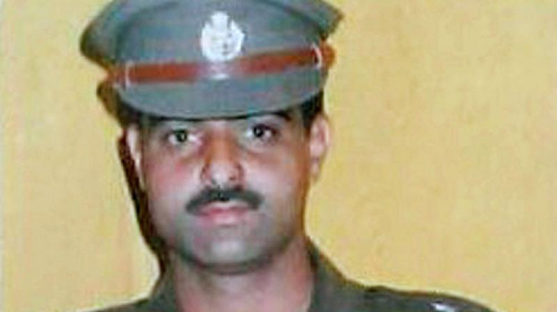 DSP Ayub Pandith died after a brutal mob attack outside the Jamia Masjid in Srinagar on June 22. (Photo: PTI)