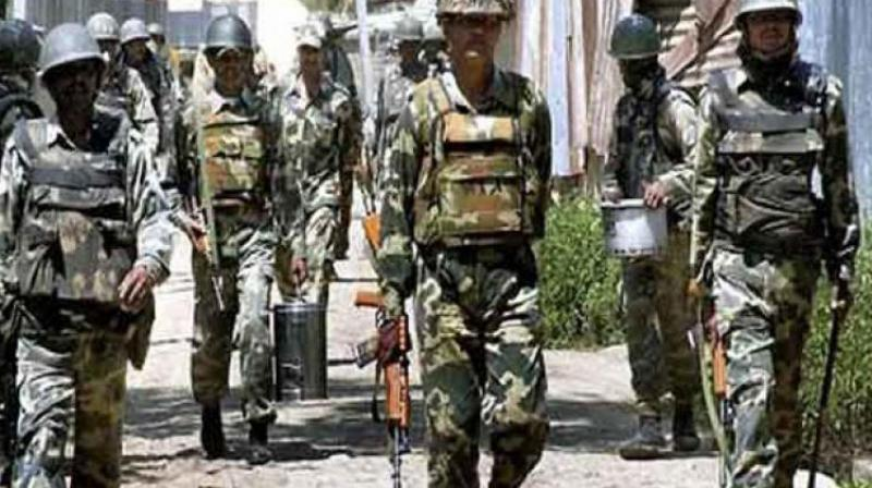 """''Though we had originally extended this service only to the families of military persons, we have now decided to extend the facilities to the families of BSF and CRPF men also considering that, they also are serving our Nation at great personal risk, protecting our borders from aggressors,"""" Mrs Rajendran said. (Representational Image)"""