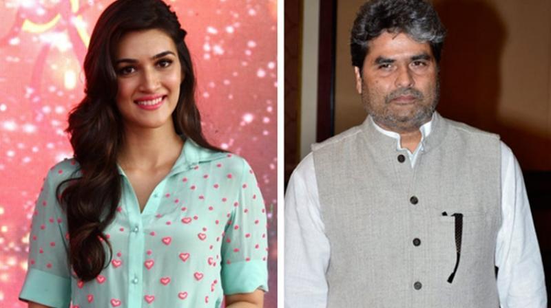 Kriti Sanon and Vishal Bhardwaj.