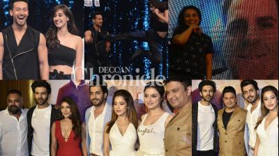 Bollywood stars stepped out for their respective films with special events in Mumbai on Monday. (Photo: Viral Bhayani)