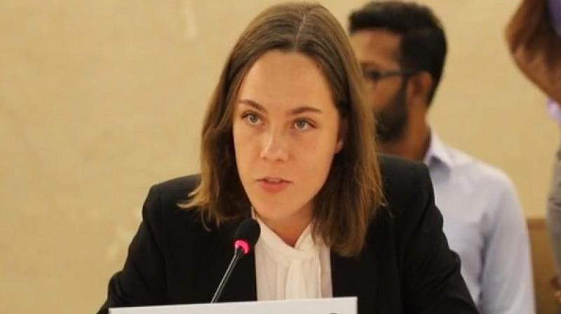 Veronica Ekelund also states that report 'attempts to vitiate history' by narrowing conflict down to two-year period, beginning with death of terrorist in 2016. (Photo: ANI)