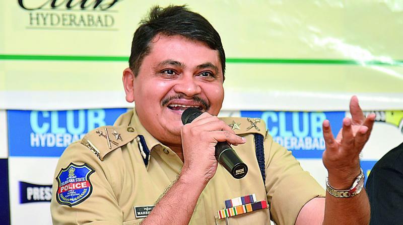 Rachakonda police commissioner Mahesh Bhagwat