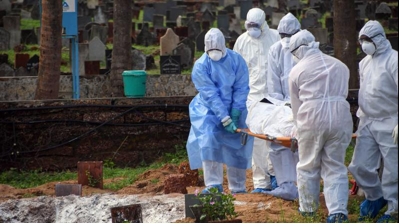 COVID-19 dead body disposal team: The guys we forgot to shower petals on