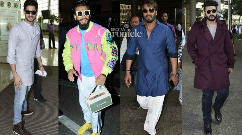 Numerous Bollywood stars were clicked by shutterbugs at the Mumbai airport and other locations on Sunday. (Photo: Viral Bhayani)