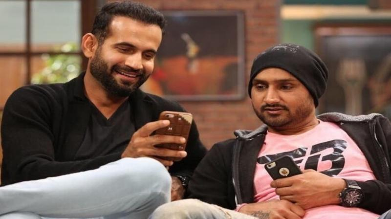 Harbhajan Singh and Irfan Pathan took to twitter to share the news. (Photo: Twitter)