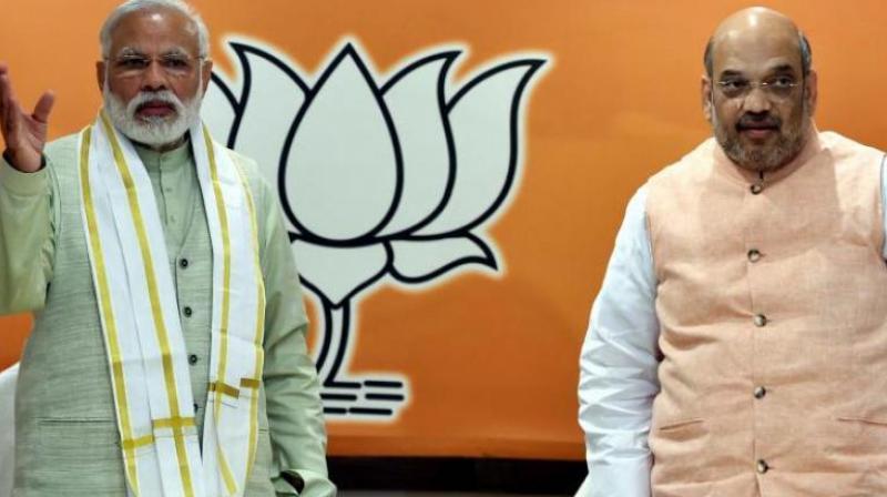 Prime Minister Narendra Modi and Home Minister Amit Shah (Photo: PTI/File)