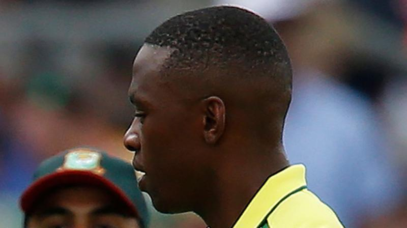Rabada will be South Africa's lead attack bowler in a match they must win to keep alive their slim hopes. (Photo:AFP)