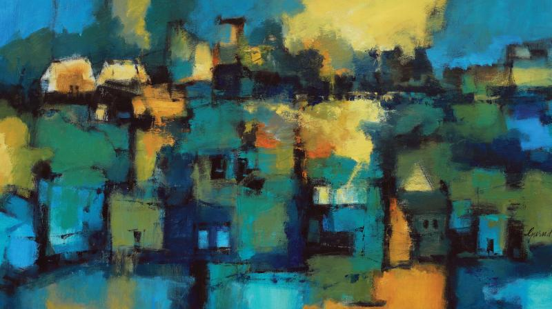 A painting by Gurudas Shenoy