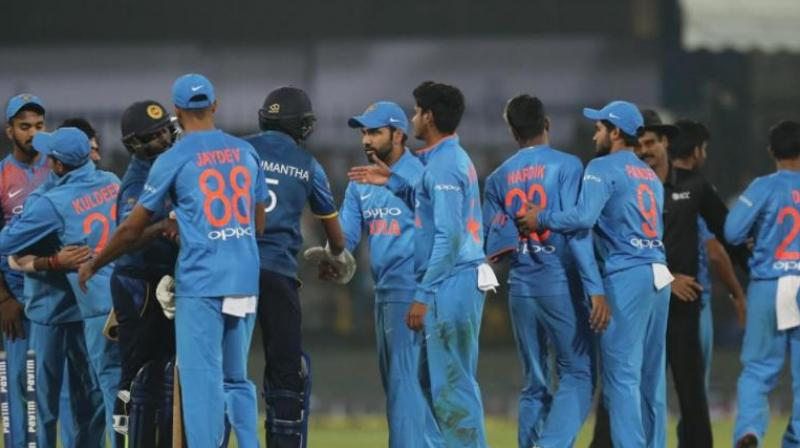 The Tri-Nation Nidahas Trophy provides an opportunity for youngsters to keep themselves in contention for a spot in Team India for 2019 World Cup in England. (Photo: BCCI)