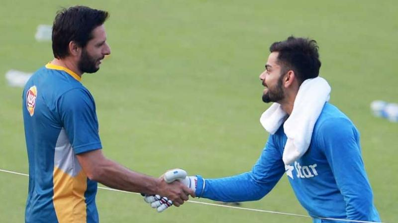 Kohli and Afridi has huge respect for each other. ( AFP)