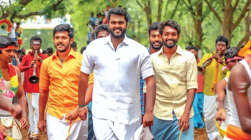 Shanmuga Pandian is all set with his third movie Madura Veeran,  a rural entertainer set against a backdrop of Jallikattu.
