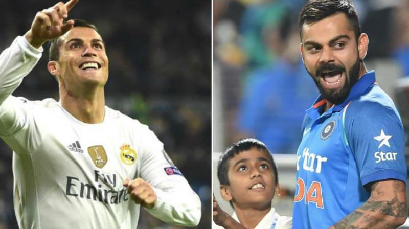 Virat Kohli reveals he draws inspiration from Ronaldo