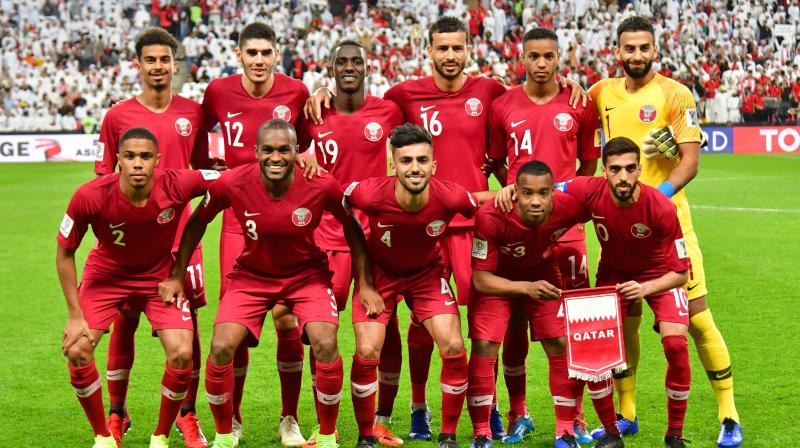 The UAE made its protest after the home side were thrashed by Qatar, their arch-rivals, in a stormy semi-final that saw the winning team pelted with shoes and plastic bottles. (Photo: AFP)