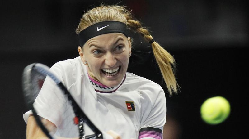 Vekic will next face either third-seeded Daria Kasatkina or Vera Zvonareva in the semifinals.(Photo: AP)