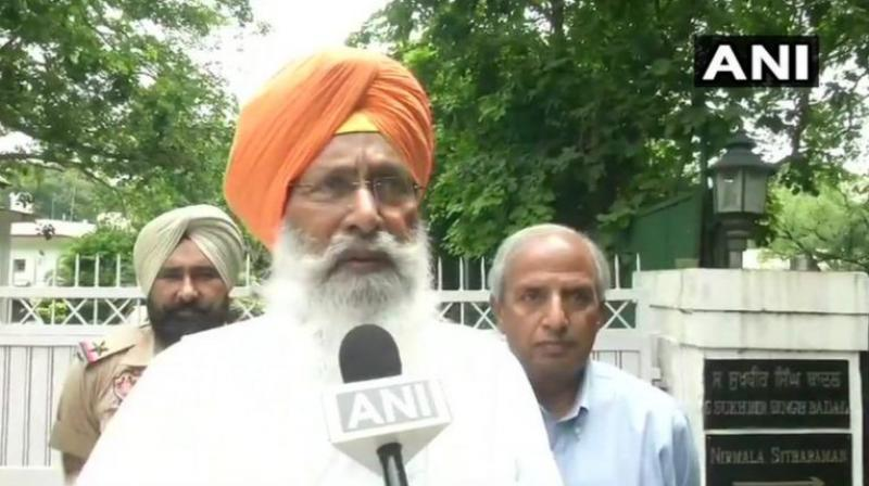 Sukhdev Singh Dhindsa has not given any for tendering resignation. (Photo: ANI)