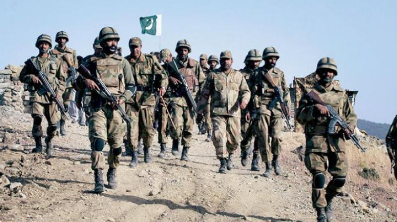 Pakistan Army spokesman Maj. Gen. Asif Ghafoor claimed that India failed to surprise Pakistan. (Representational Image)