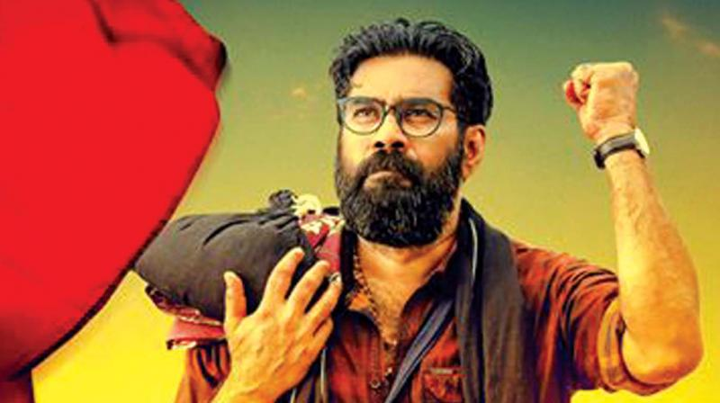 In Nalpathiyonnu (41), Lal Jose talks about religious beliefs, atheism and Communism. But here, he plays it safe by neither pleasing nor attacking any particular section.