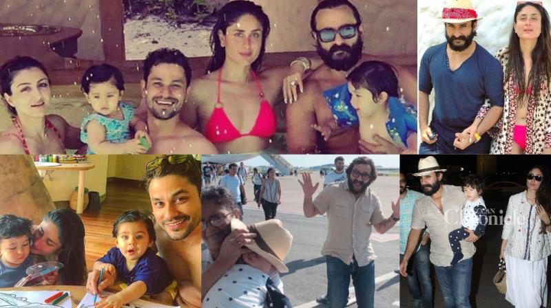Saif Ali Khan, Kareena Kapoor Khan and their son Taimur have gone for a vacation to Maldives and the pictures are going viral on Instagram.