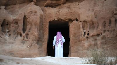 Al-Ula, an area rich in archaeological remnants, is seen as a jewel in the crown of future Saudi attractions as the kingdom prepares to issue tourist visas for the first time. (Photo: AFP)