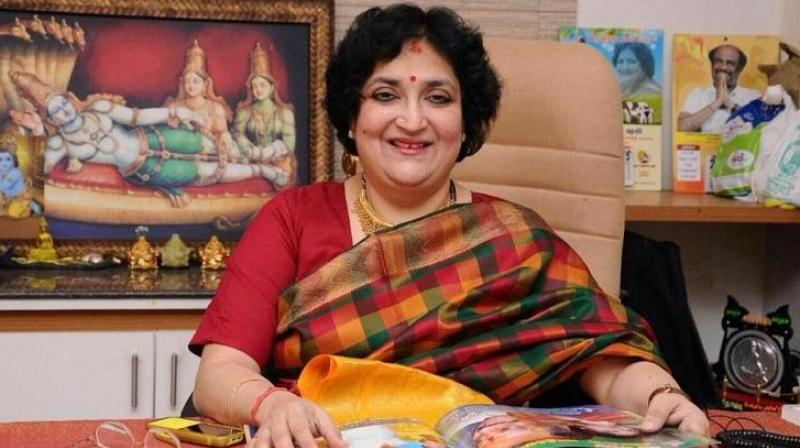 Supreme Court took strong exception to Latha Rajinikanth's attempt to wriggle out of her liability to pay Rs 6.2 crore to an advertising agency on the pretext that her previous lawyer had wrongly given the undertaking. (Photo: Facebook | Latha Rajinikanth)