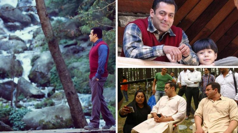 Fresh Pictures Salman Khan Relaxes On The Sets Of Tubelight In Manali