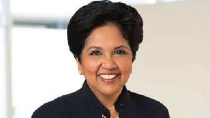 Pepsico's former CEO, Indian-origin businesswoman Indra Nooyi