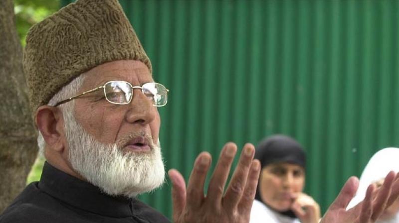 Hardline separatist leader Syed Ali Shah Geelani (Photo: PTI)