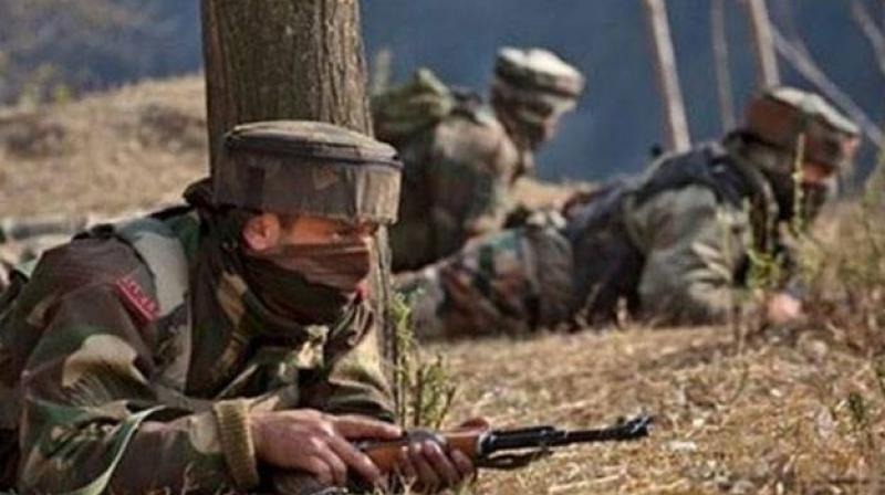 One jawan was killed in Pakistani firing in Nowshera Sector of Jammu and Kashmir's Rajouri district on Tuesday. (Photo: PTI/Representational)