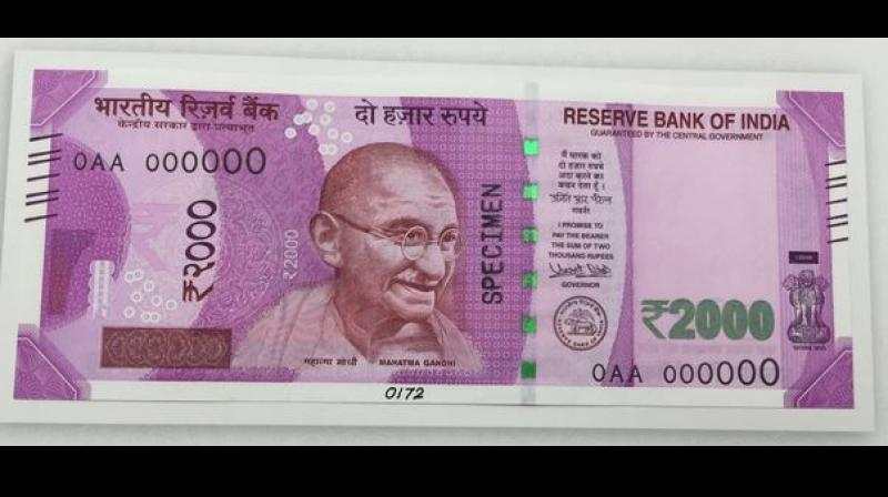 Prime Minister Narendra Modi on Tuesday announced that Rs 2,000 and new notes of Rs 500 will be circulated soon. (Photo: ANI/Twitter)